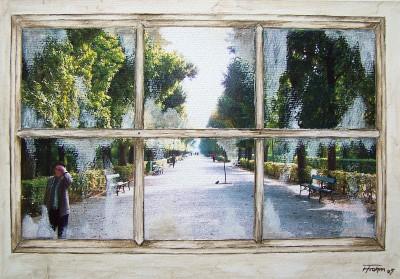 Aquarell for Fenster 60x80